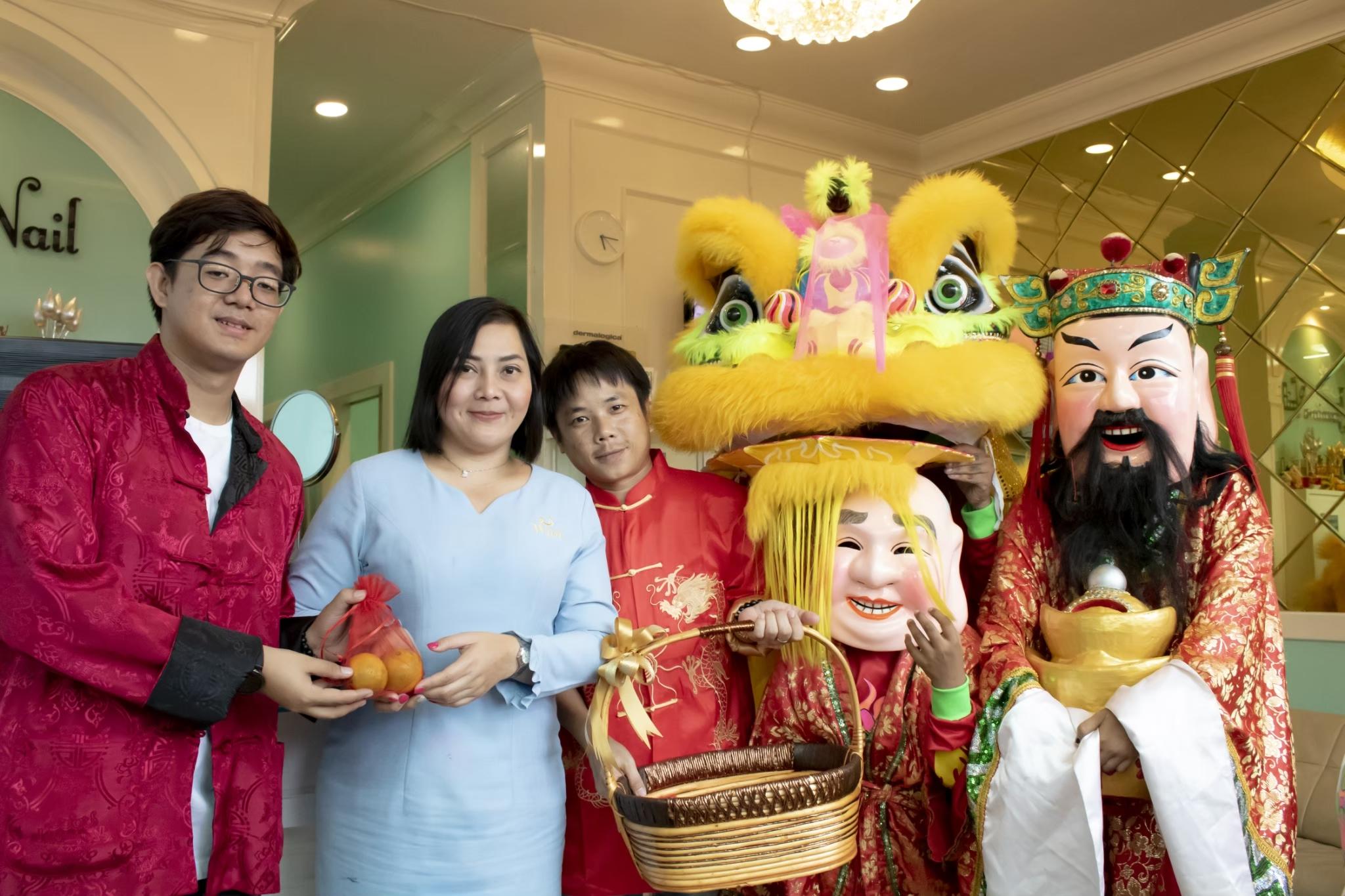 บรรยากาศงาน ตรุษจีน ปี 2563 @The Paseo Mall สาขา ลาดกระบัง