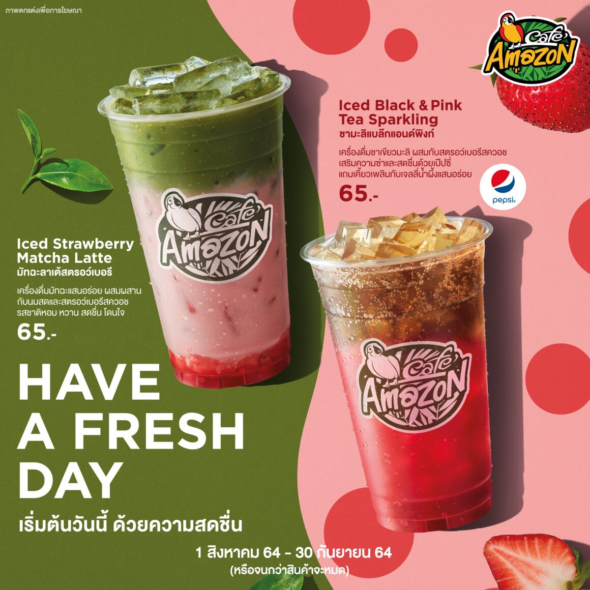 HAVE A FRESH DAY