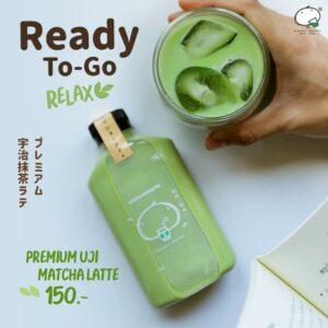 """เติมความสดชื่นให้ทุกเช้า ให้ทุกวันเป็นวันที่แสนพิเศษ กับ KAMU Ready To Go """"Premium Uji Matcha Latte"""